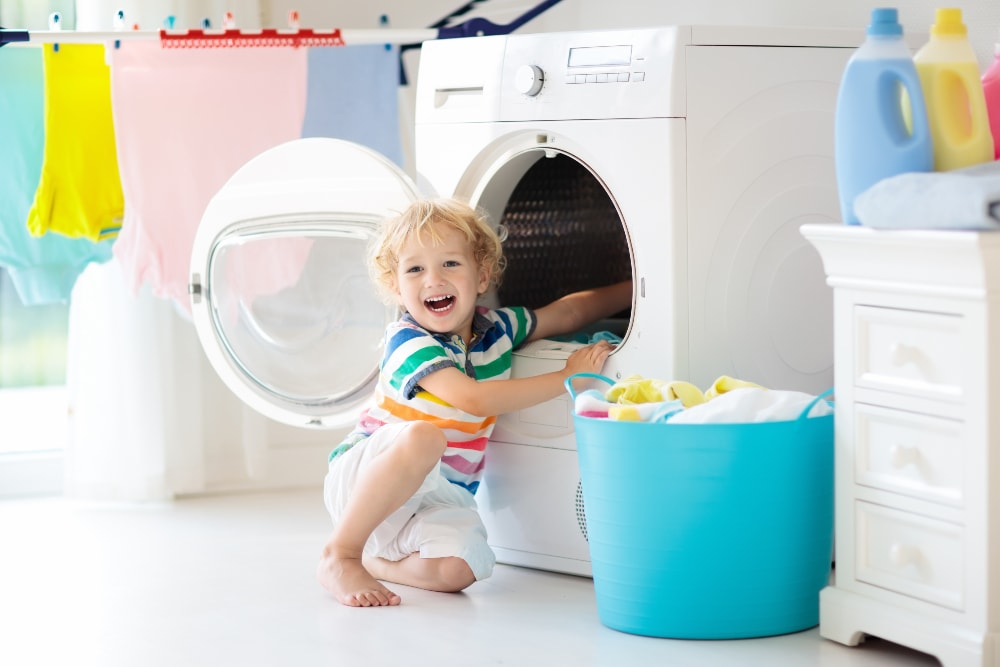 all in one washer and dryer set